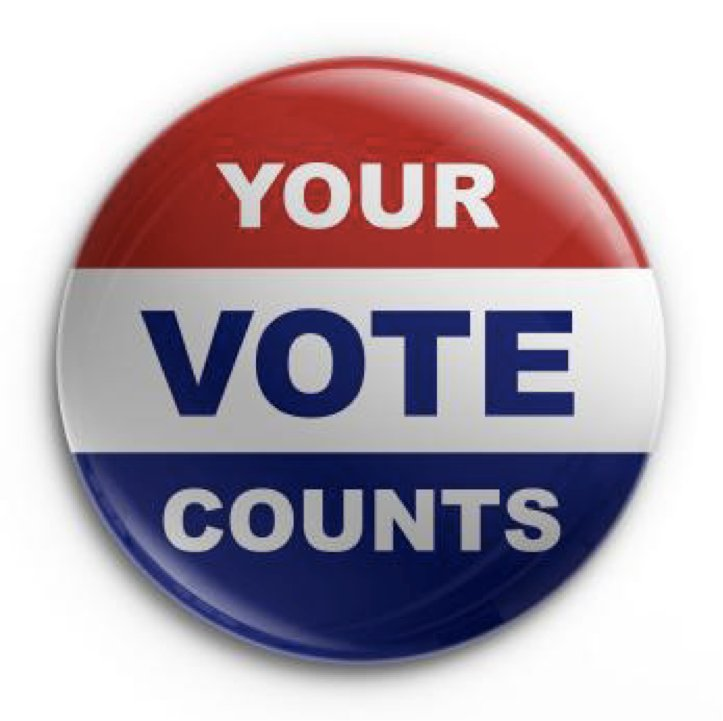 Your Vote Counts button jog